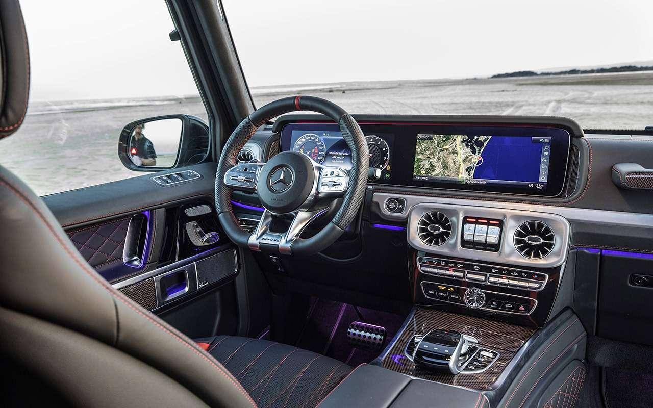 Новый Mercedes-Benz G-класса: первый тест-драйв— фото 867936