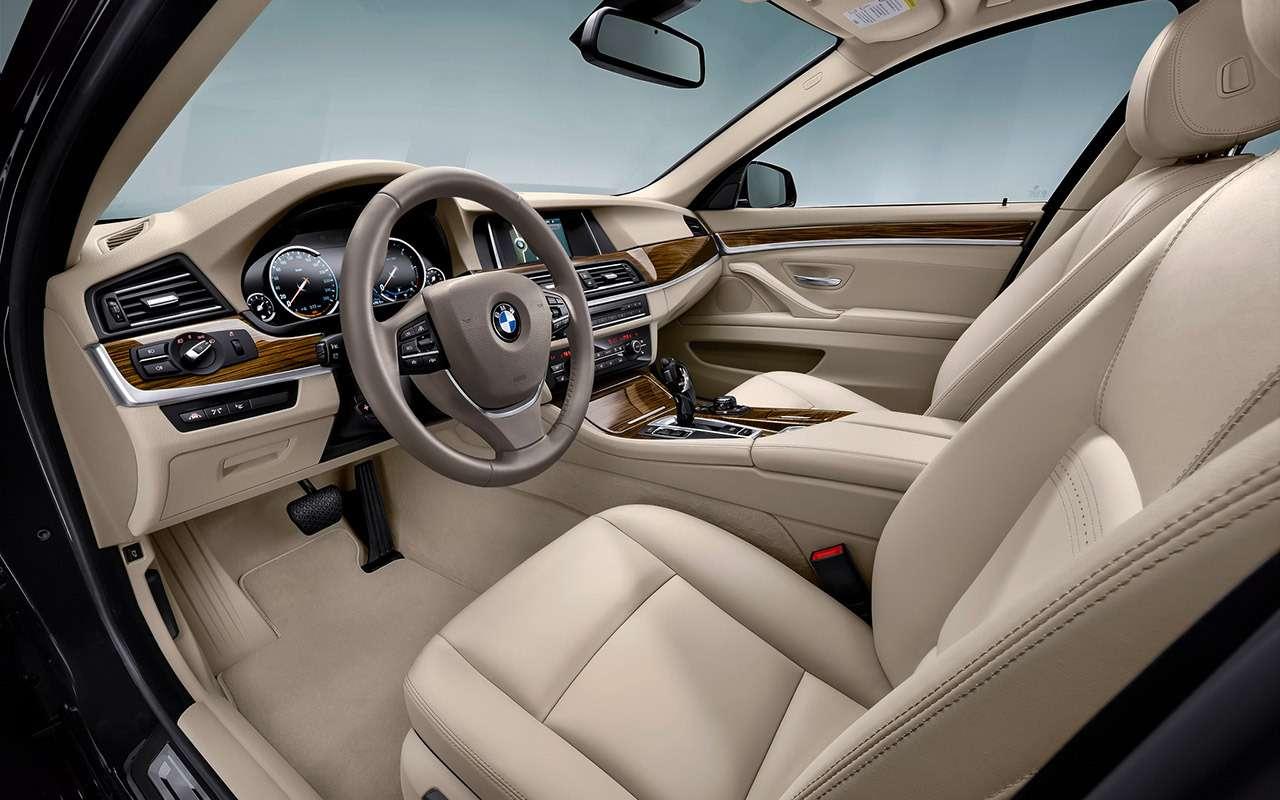 BMW5‑й серии (F10): полный список проблем— фото 1180717