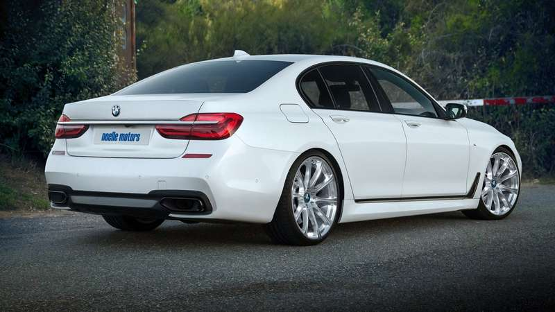 «Семерка»-ураган: BMW 750i обгонит спорткары