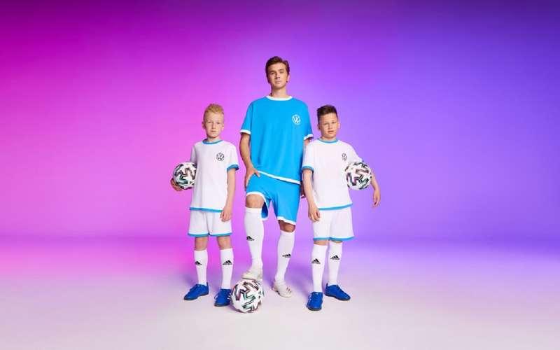 Volkswagen запустил детский конкурс: вынеси мяч наполе EURO 2020