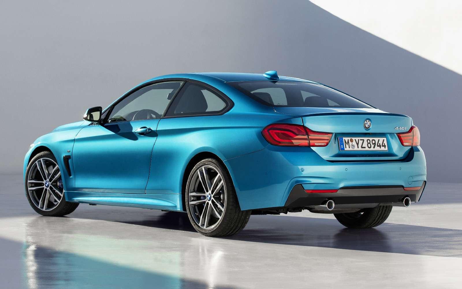Светодиоды ижесткость: BMW обновила семейство 4-й серии— фото 694059