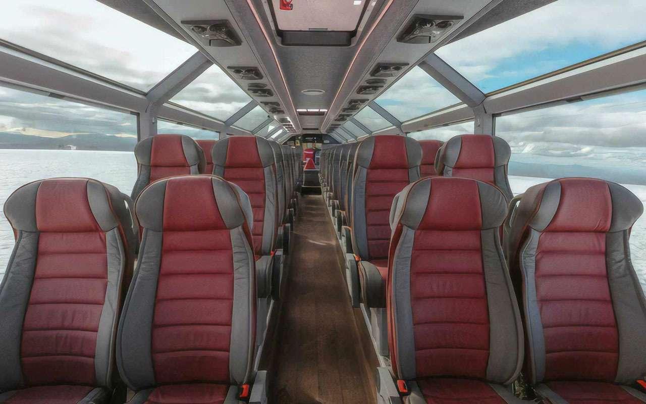 Восьминогий конь Одина— автобус дляпокорения ледников— фото 1218017