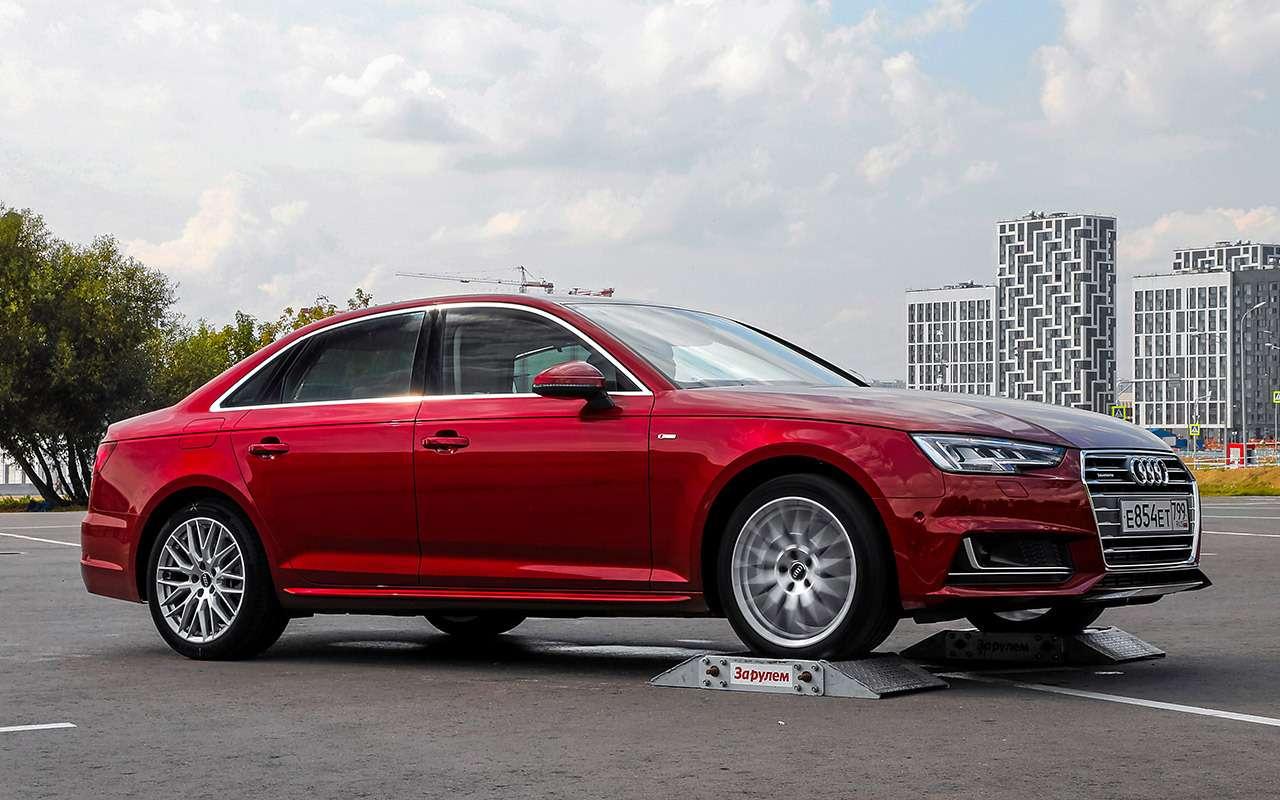 Субару, Мерседес, BMW, Audi...— чей полный привод круче— фото 933378