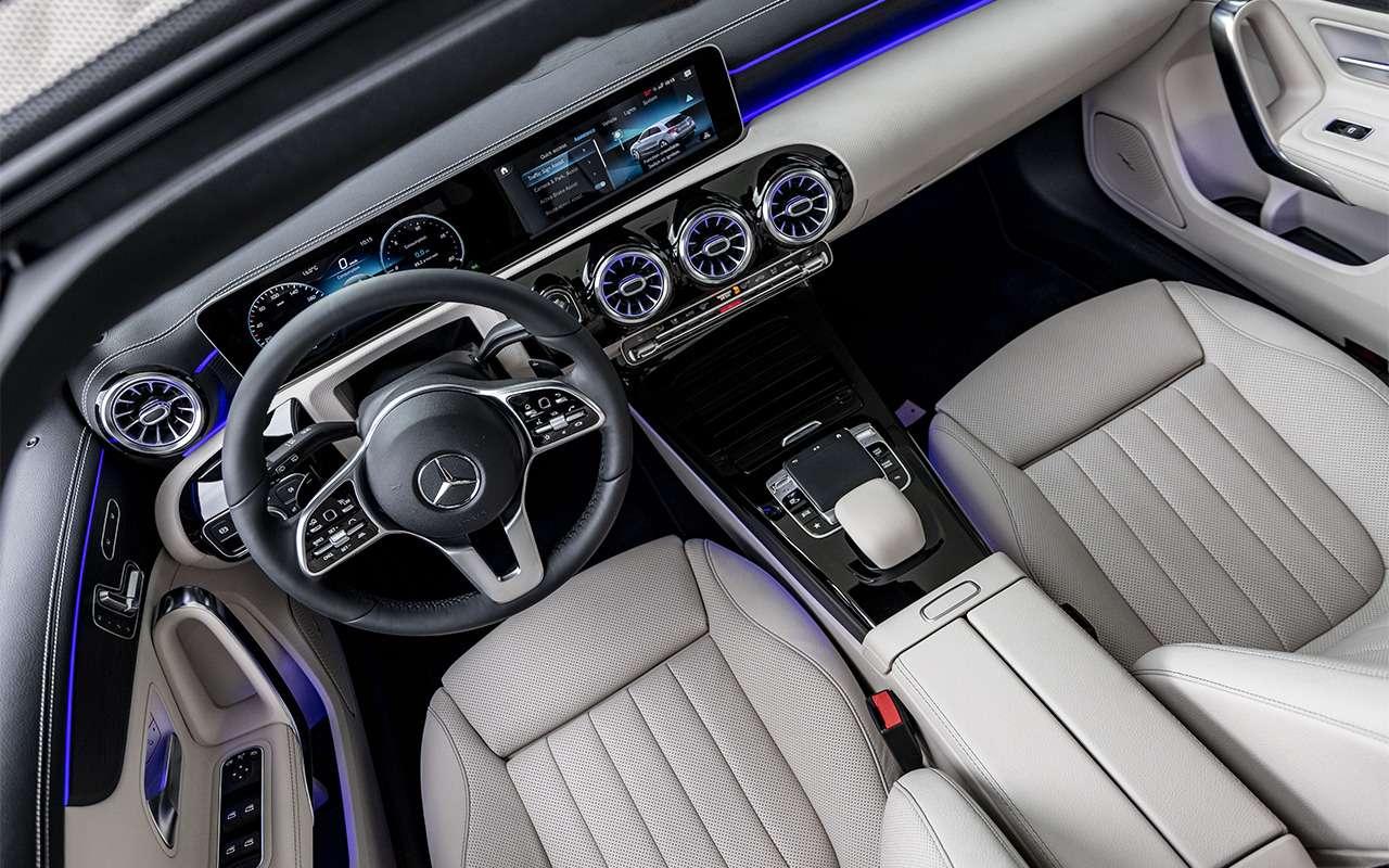 Новый Mercedes-Benz A-класса— первый тест-драйв— фото 863994