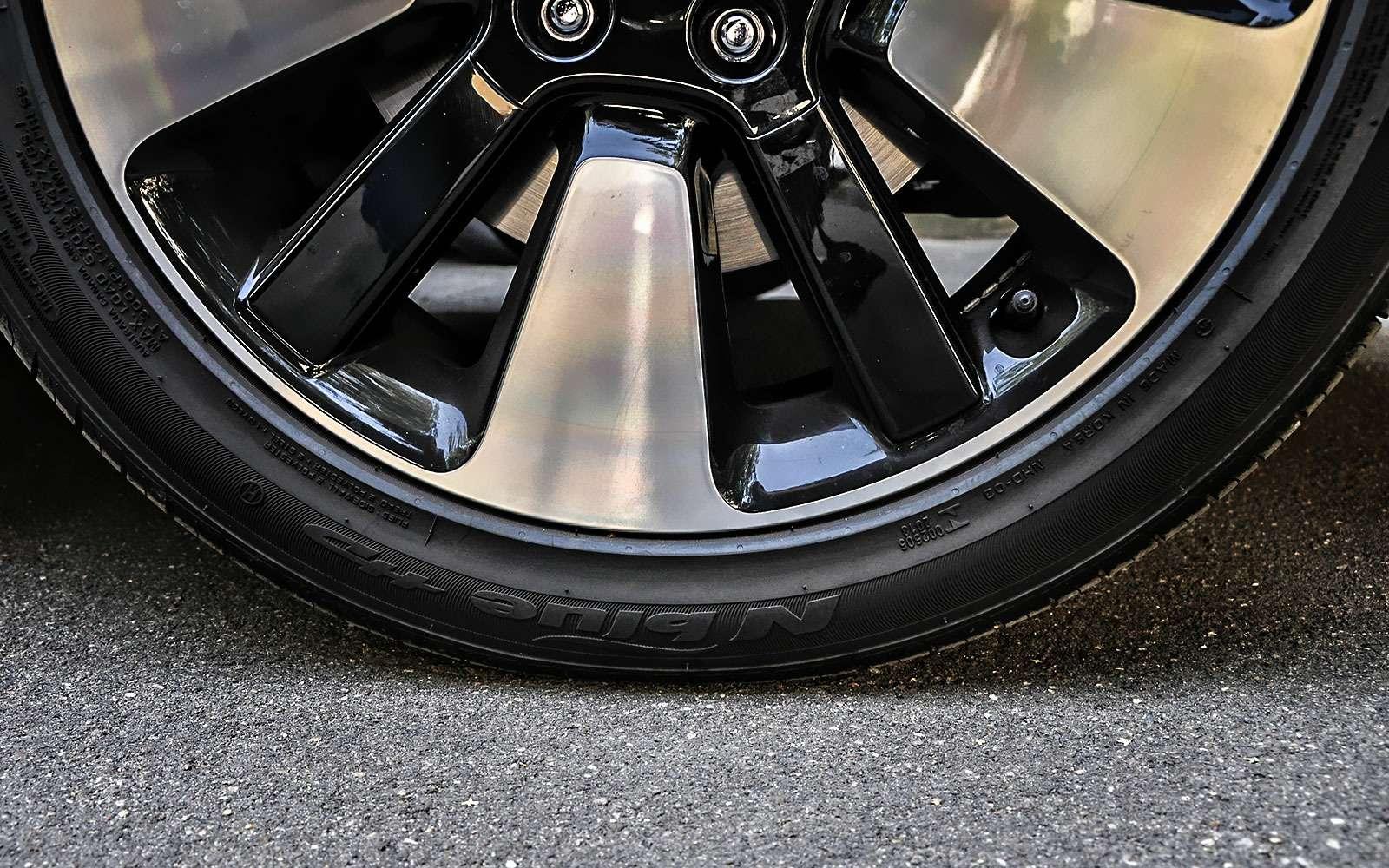 А что, если поставить колеса побольше?— экспертиза ЗР— фото 792217