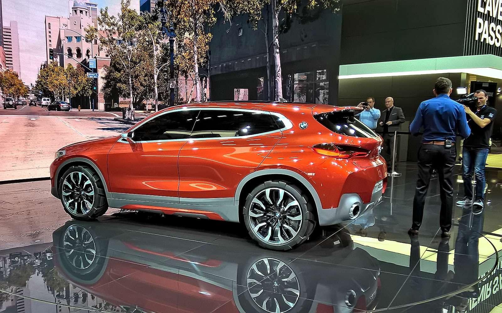 «Два икса»: BMW представила очередной нишевый паркетник— фото 641905