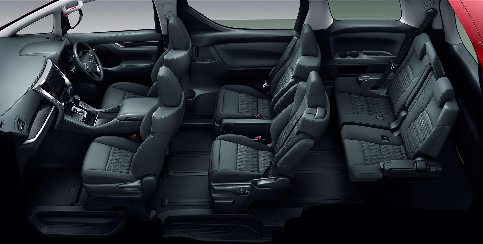 Обновленный Toyota Alphard: маски-шоу иновый силовой агрегат— фото 829977