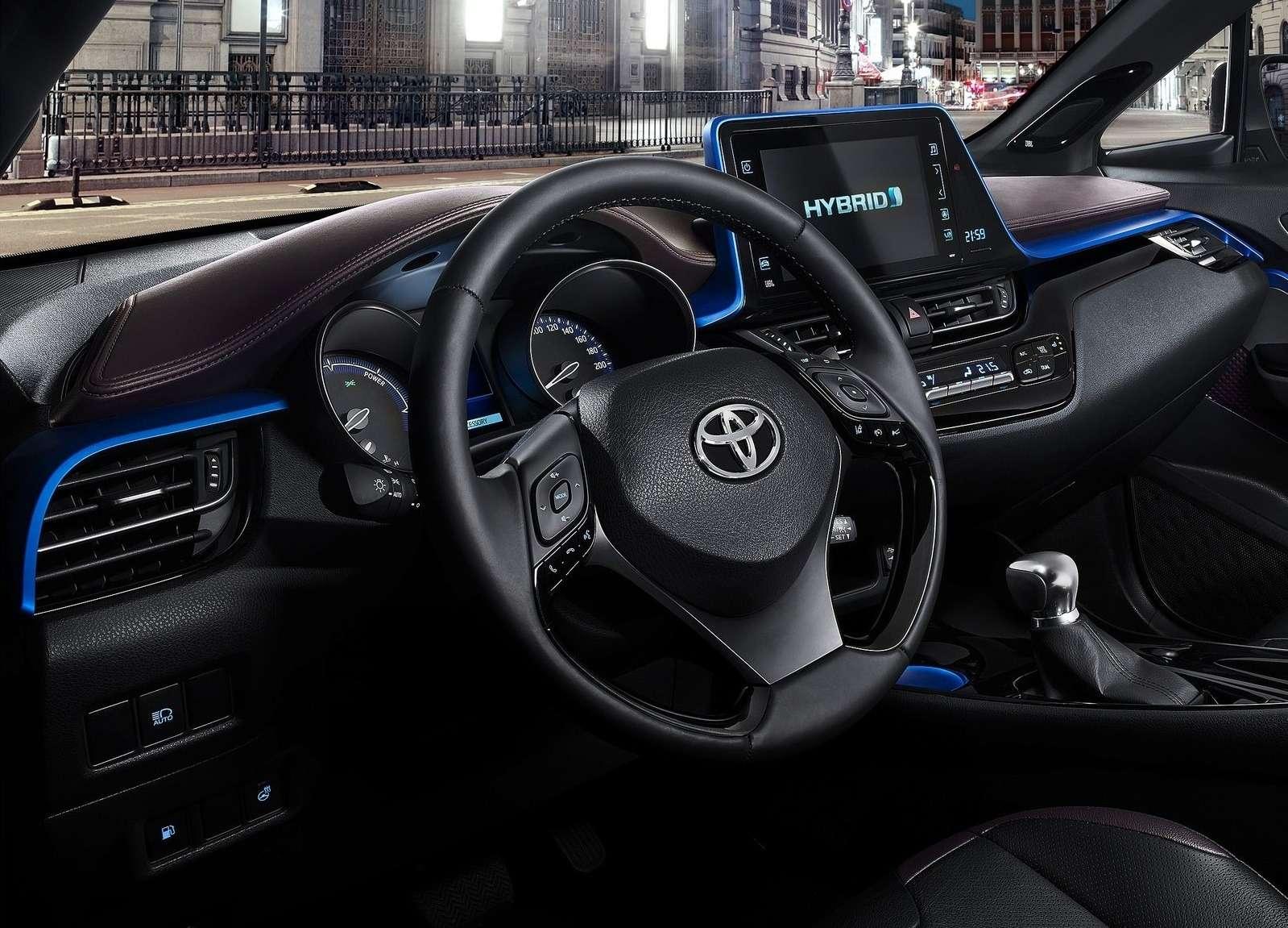 Интерьер Toyota C-HR: японцы нашли стиль— фото 602833