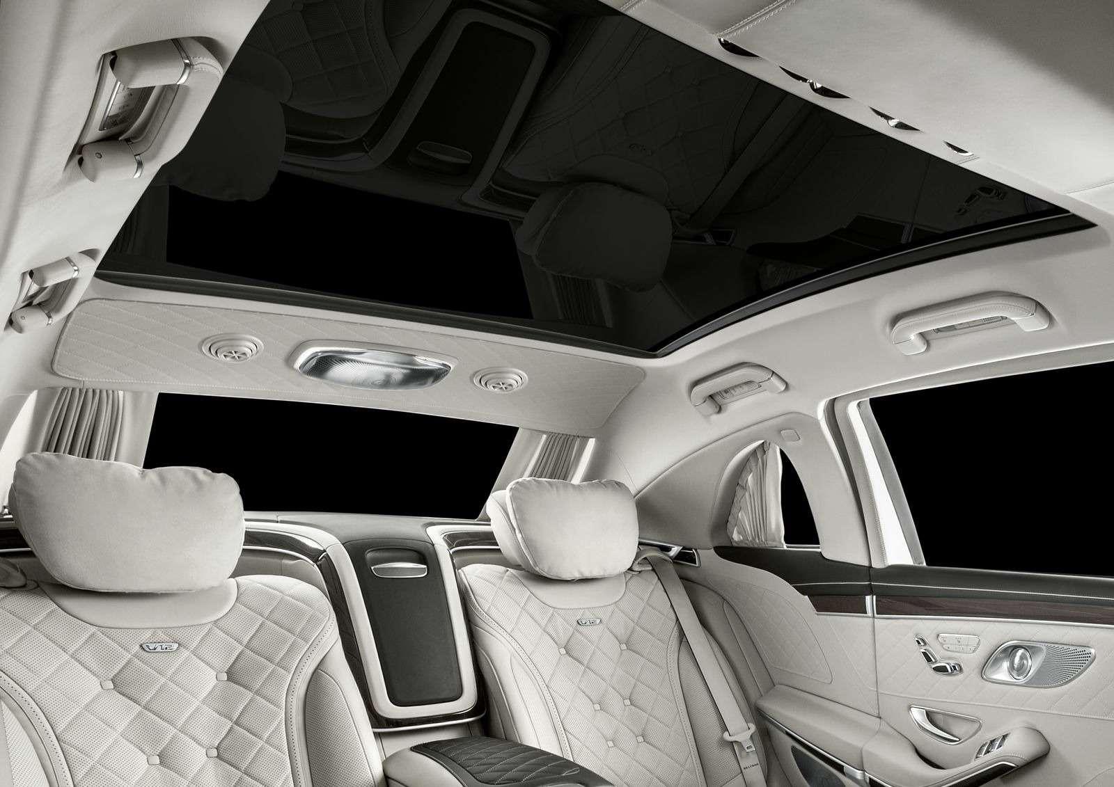 Лимузин Mercedes-Maybach Pullman пережил рестайлинг— фото 853891