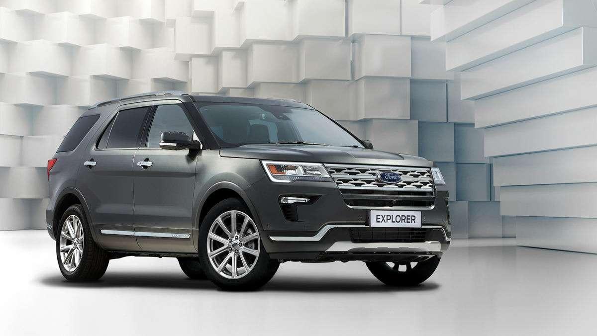 Названы российские цены наобновленный Ford Explorer— фото 857369