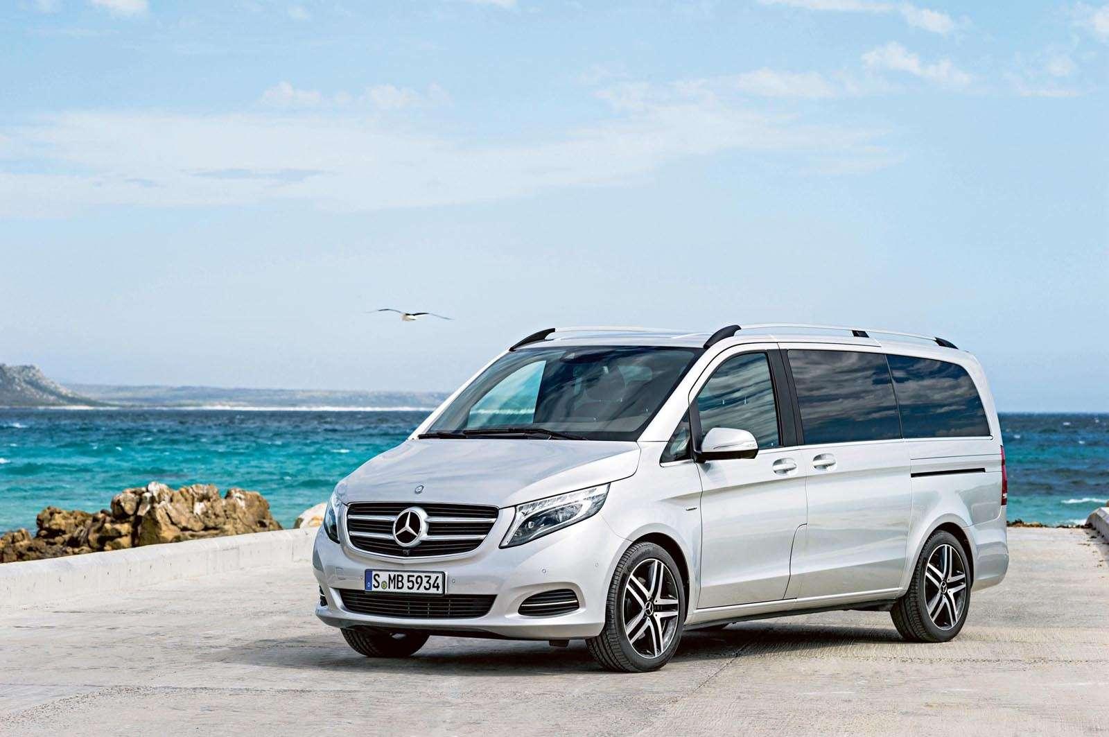 Dieneue Mercedes-Benz V-Klasse, The new Mercedes-Benz V-Class