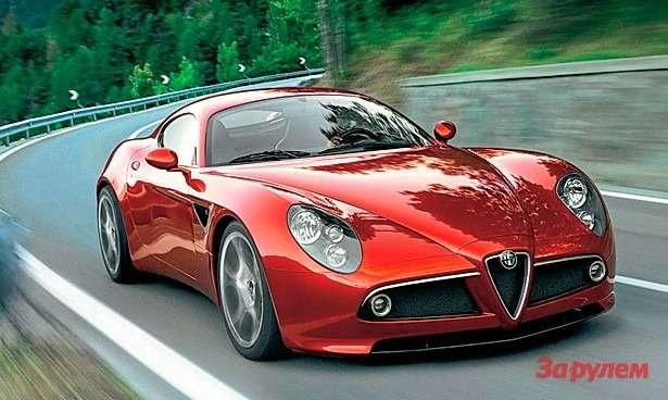 Alfa Romeo 4С: Альфа-самка— фото 258315