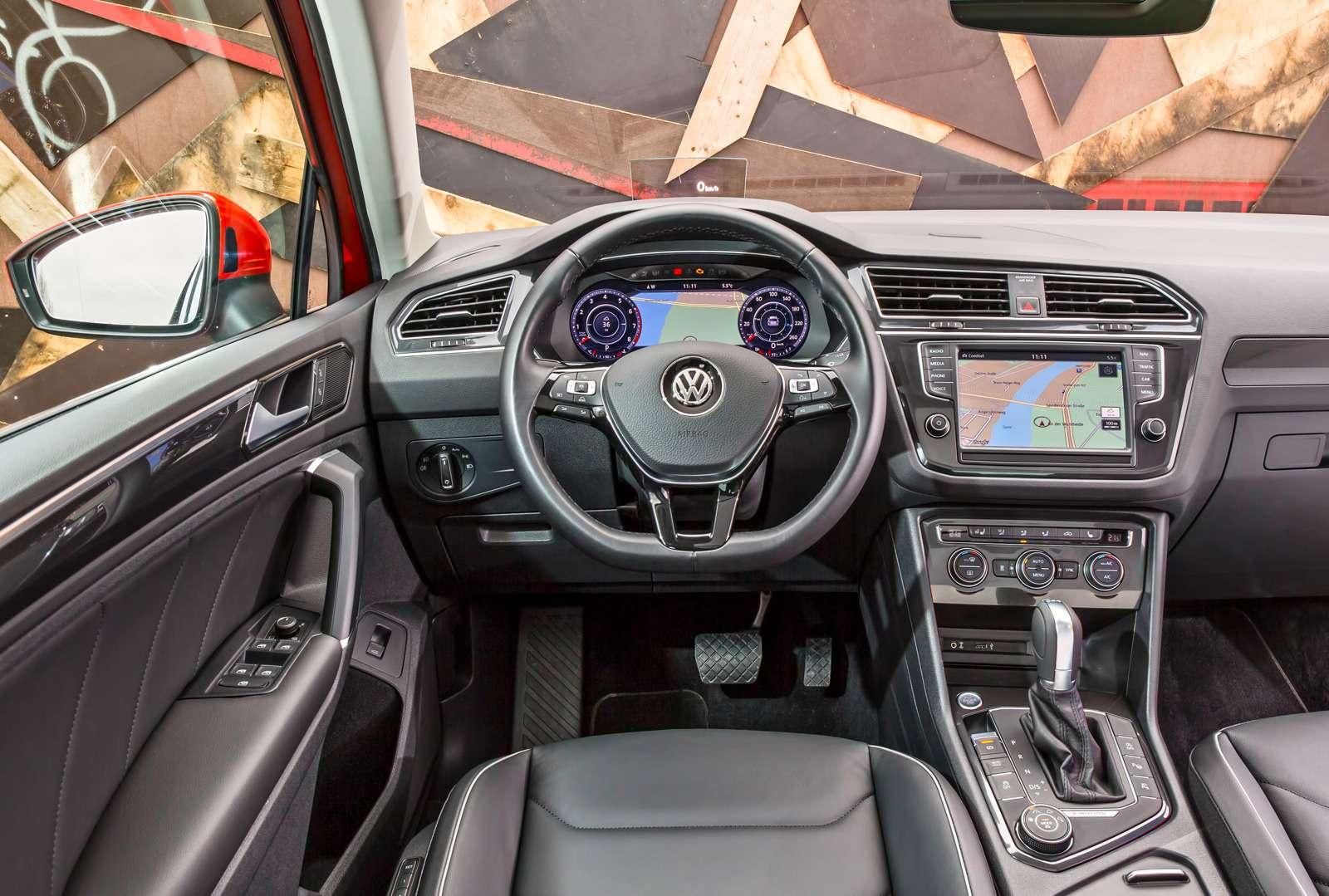 Тест нового Volkswagen Tiguan: победа экологов надавтоспортсменами— фото 594450