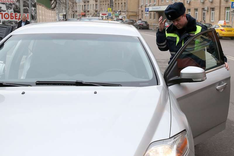 Undercover patrol cars start operating inMoscow