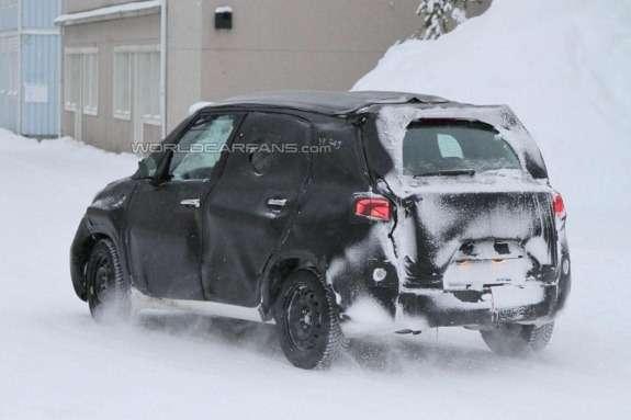 Fiat Ellezero side-rear view