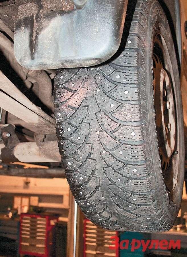 Длялегких грузовичков есть много  моделей зимней шипованной резины