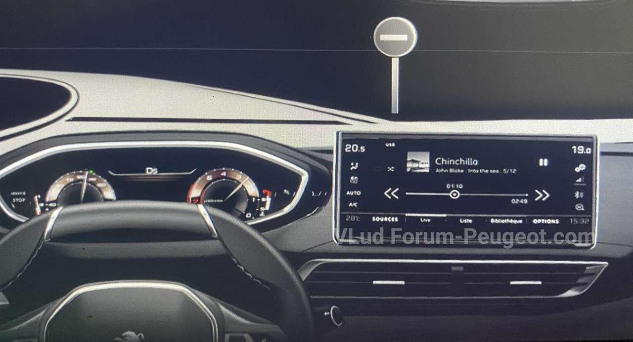 Обновленный Peugeot 3008: неофициальные фото - фото 1162238