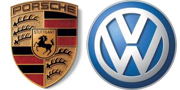 Porsche and VWlogos