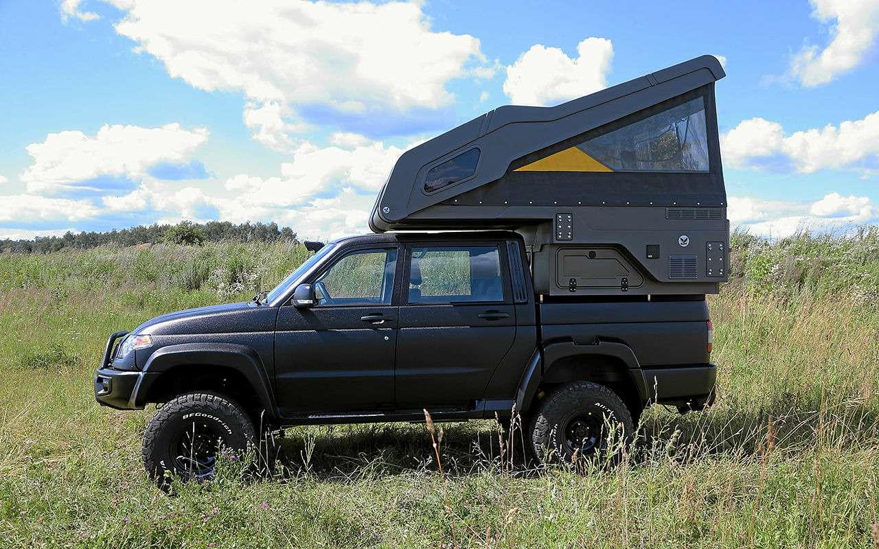 Автодом набазе пикапа УАЗ— подробный обзор— фото 1159478