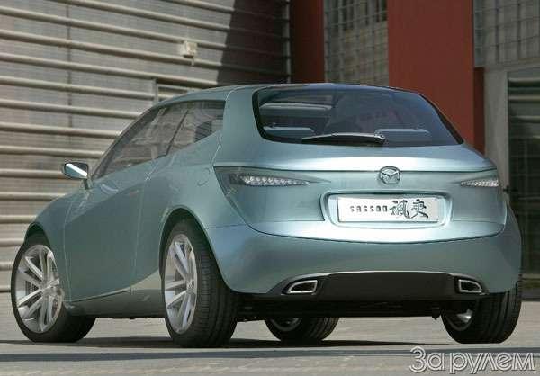 Mazda Sassou. Упяти углов— фото 62212