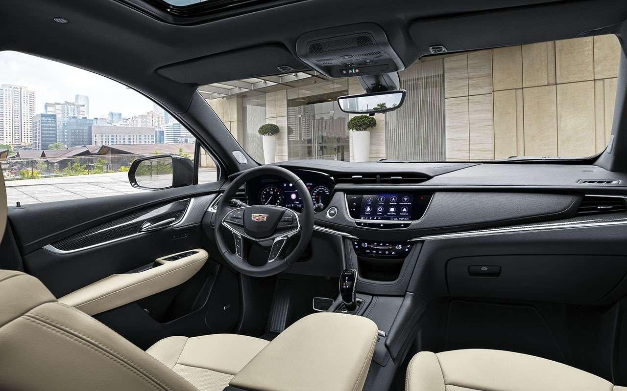Обновленный Cadillac XTвРоссии: цена известна— фото 1019626