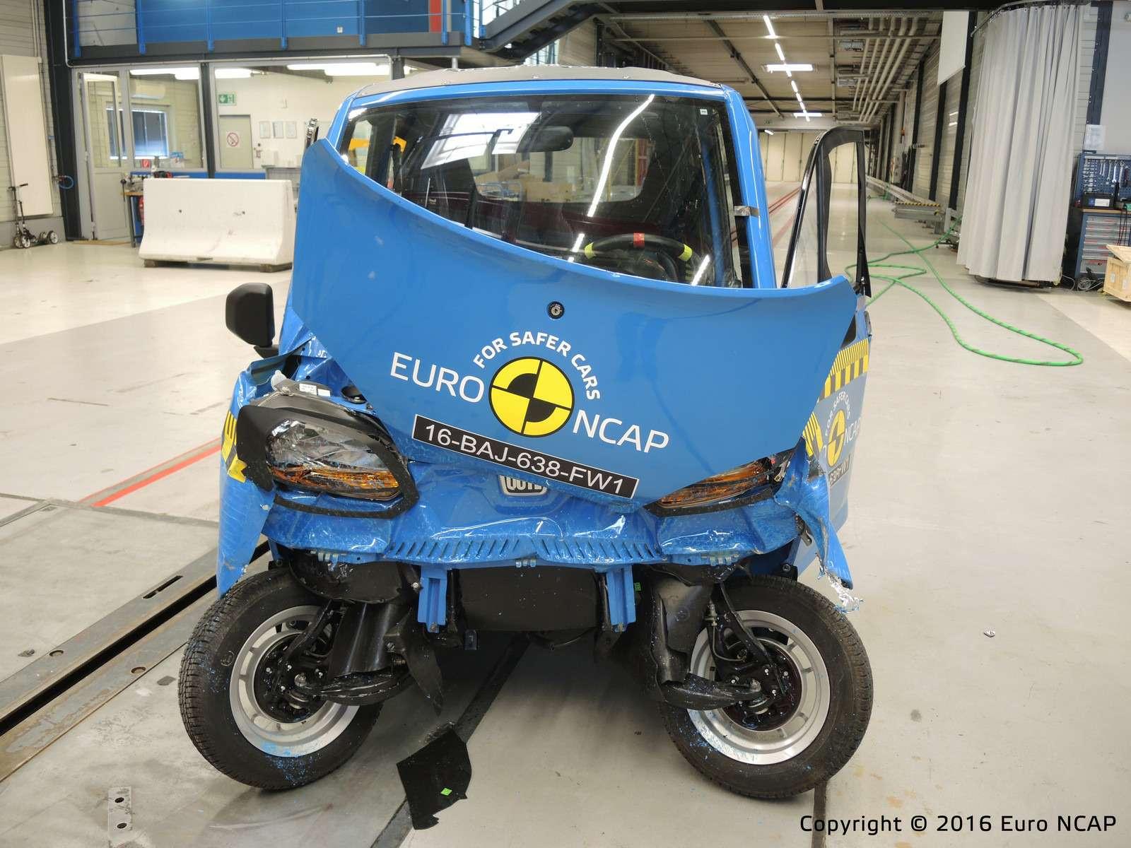 Euro NCAP огласил ужасающие результаты краш-тестов тяжелых квадроциклов— фото 573076