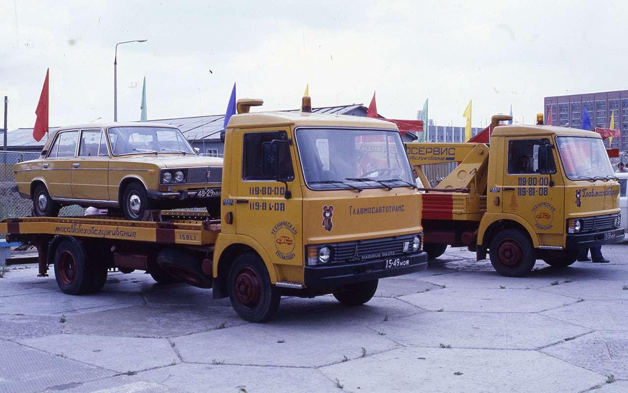 Машины Олимпиады-80: уникальные изабытые проекты— фото 1138543