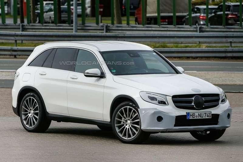 Шпионские фото Mercedes-Benz GLC