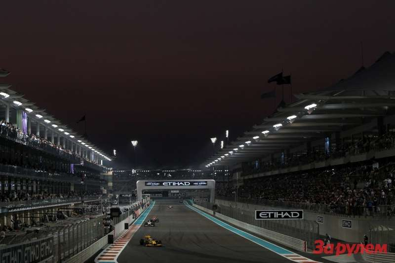 Гран-При Абу-Даби может уступить свое место вкалендаре Ф1этапу вБахрейне