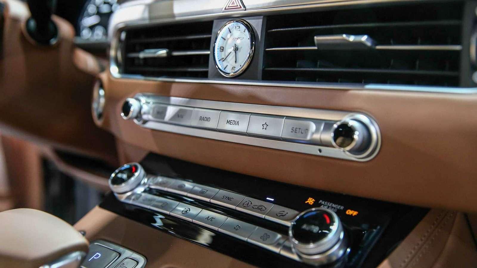 Genesis показал обновленный флагманский седан G90— фото 926561