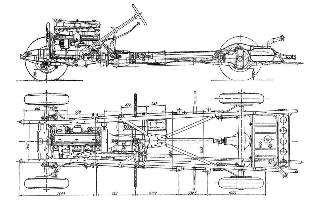 ЗИС‑101: изчего сделали первый советский лимузин— фото 935284