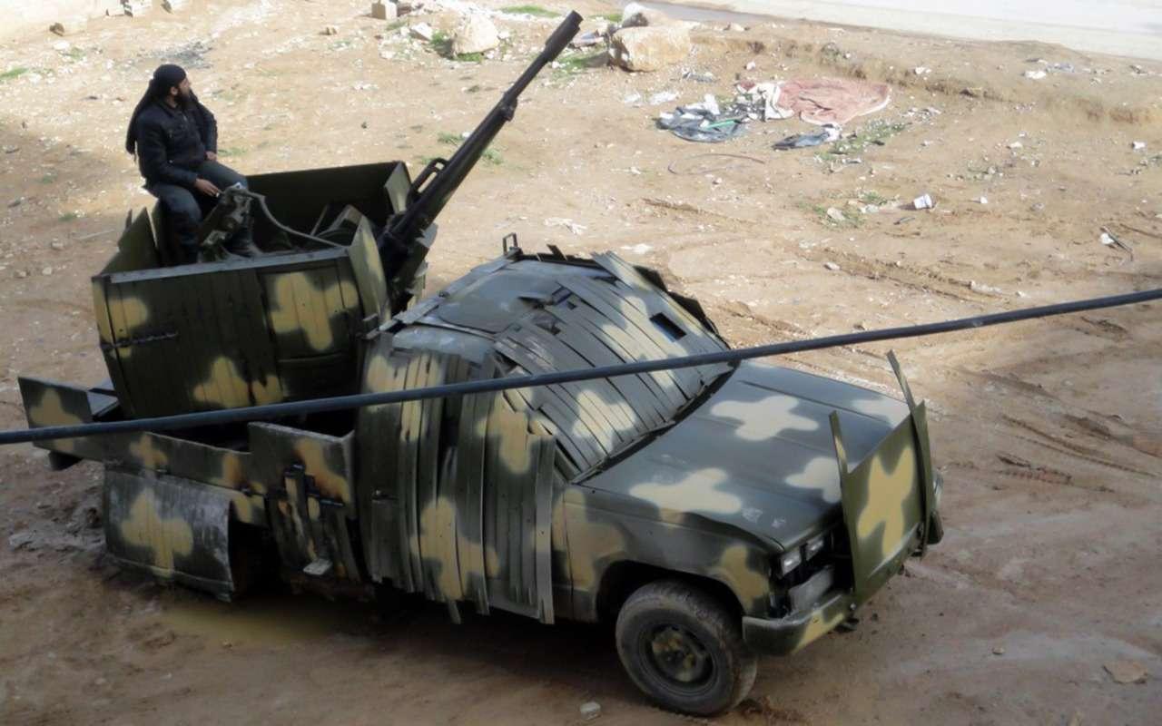 Грузовики боевого назначения: гантраки вАфгане, Украине иСирии— фото 911493
