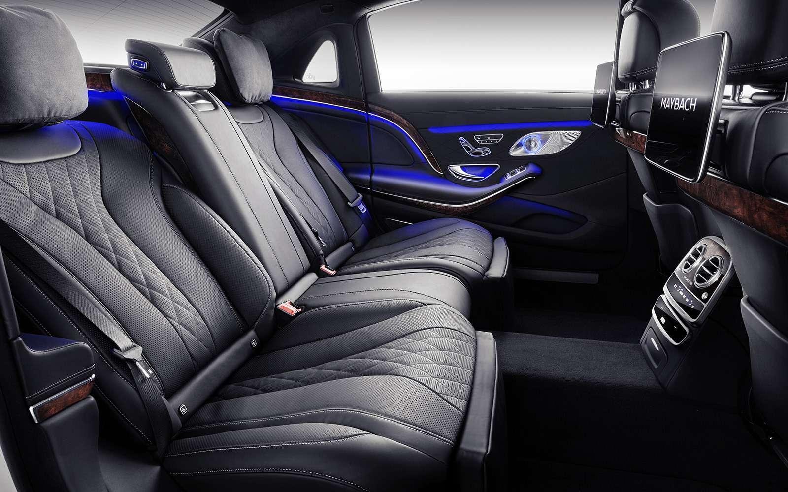 Нарадость олигархам: рассекречен обновленный Mercedes-Maybach S-класса— фото 844556