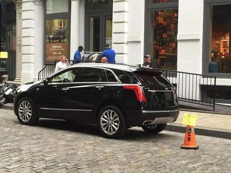 Прототип Cadillac XT5
