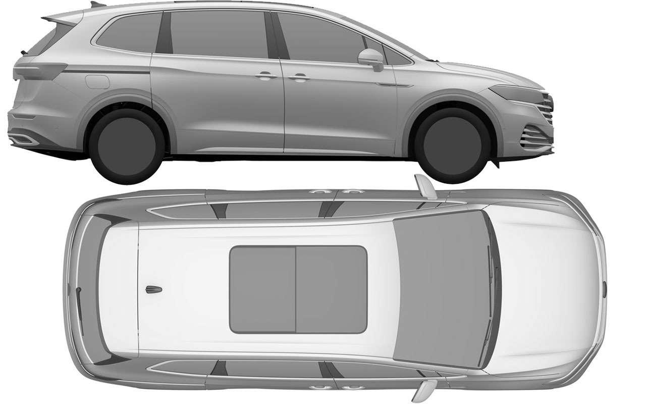 VW запатентовал в России новую модель - Viloran - фото 1165770