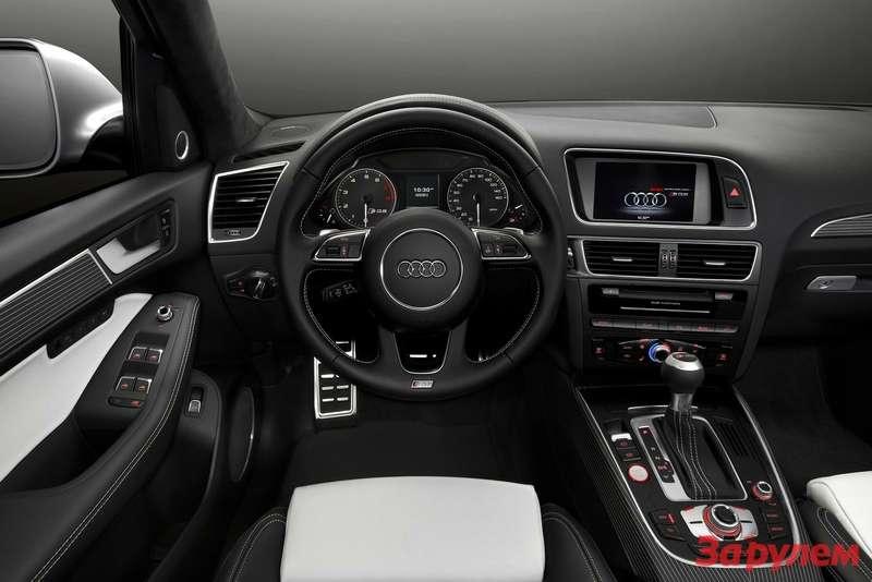 Audi SQ53.0 TFSI inside