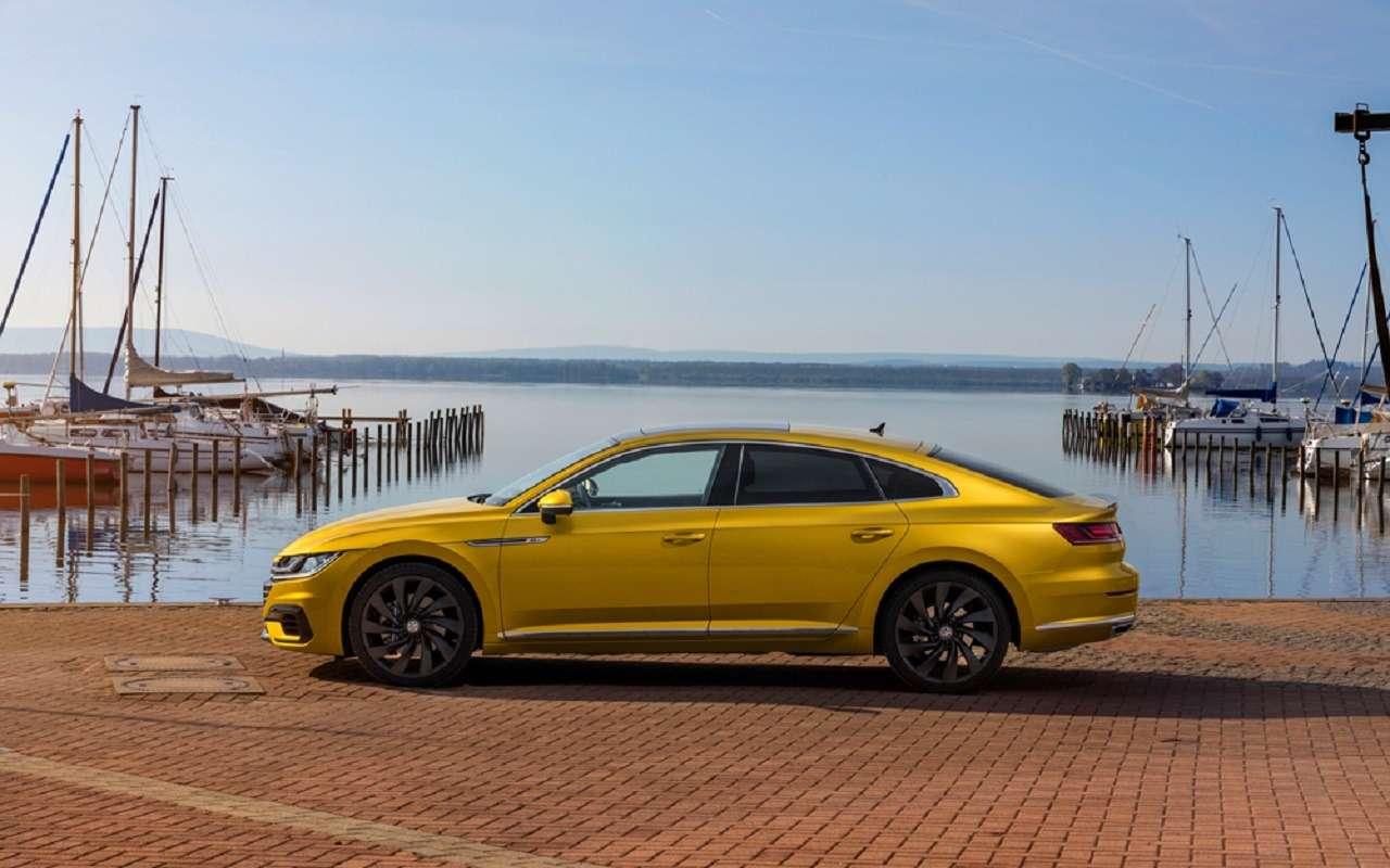 Volkswagen привезет вРоссию спортивный седан Arteon— фото 1138243