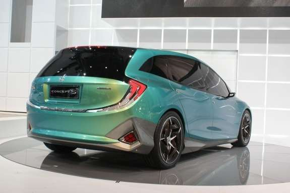 Honda Concept S side-rear view