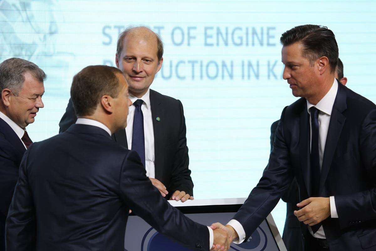 Volkswagen Group Rus_Engine Plant_Opening_2