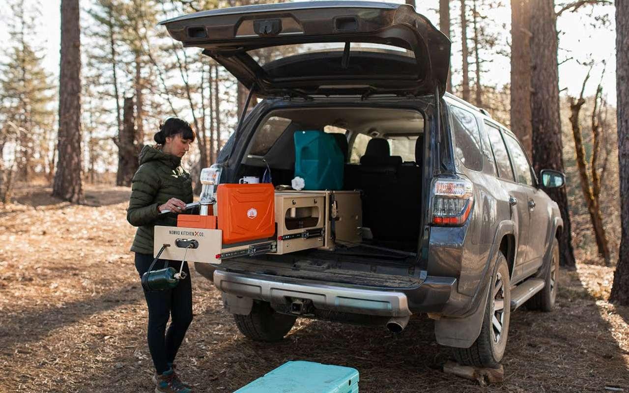 Автодом не нужен: есть мини-кухня длякроссоверов— фото 1114326