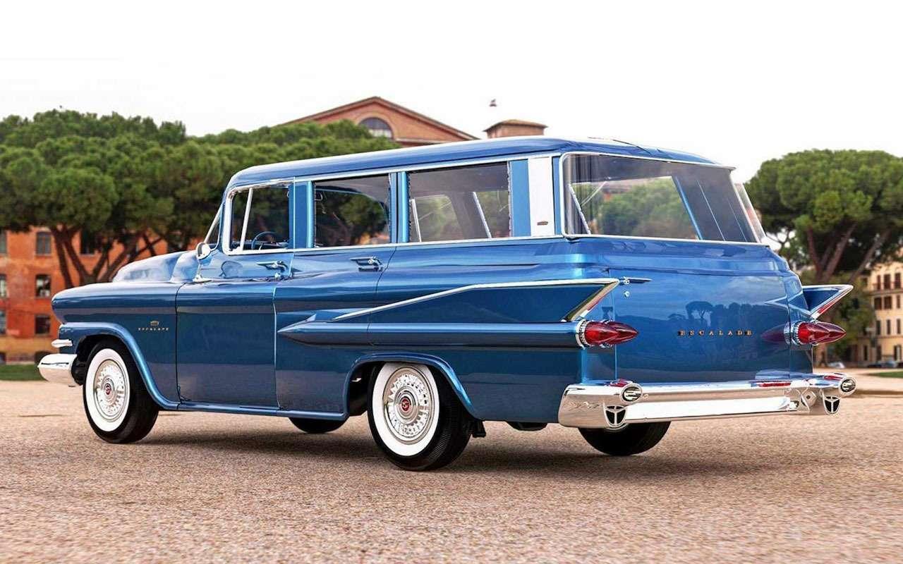 Cadillac Escalade 60лет назад: странная автофантазия— фото 1133754