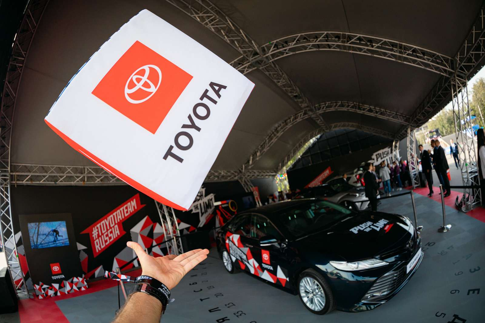 Toyota поддержала фестиваль Moscow City Games— фото 904352
