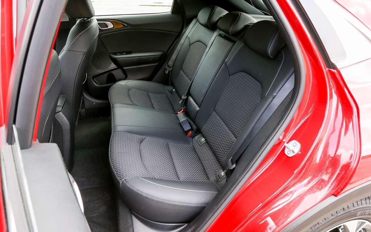 Новый Kia XCeed: сравнили две версии «почти кроссовера»— фото 1143623