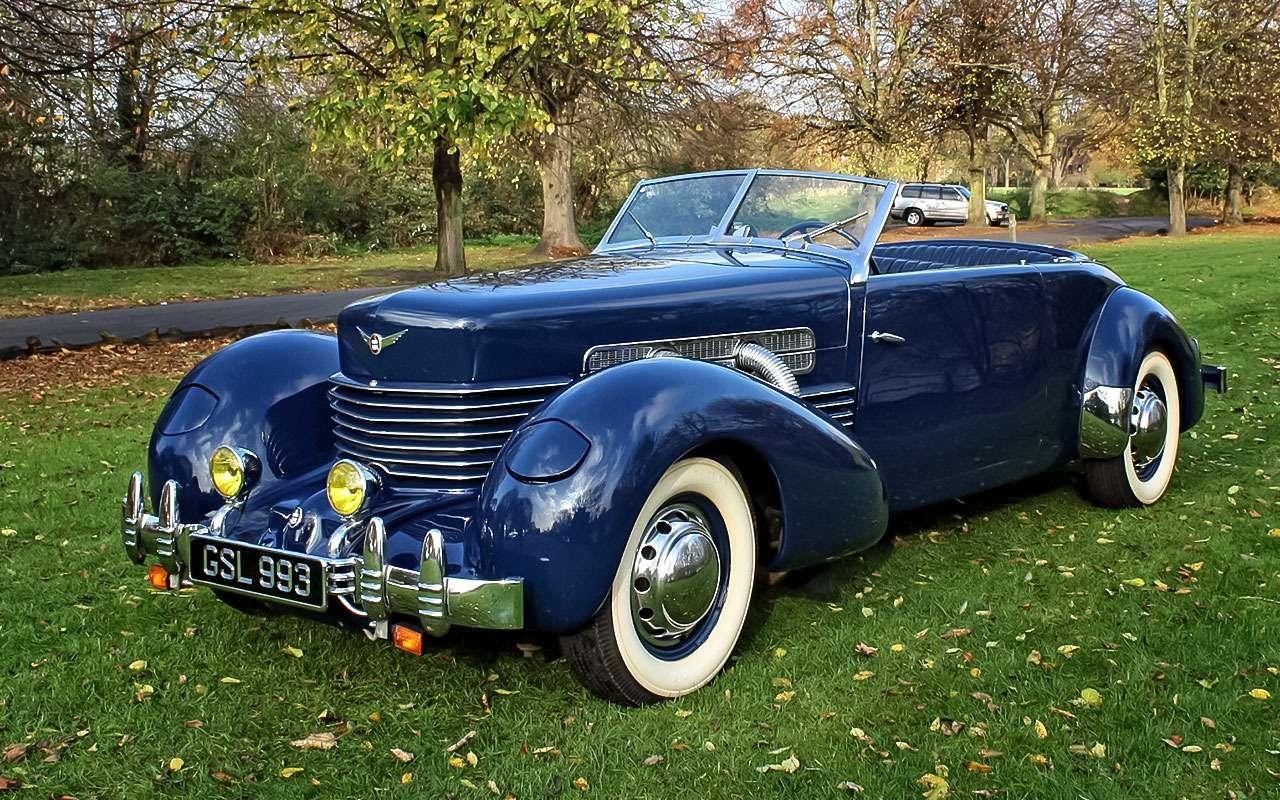 Cord 810, 1935г