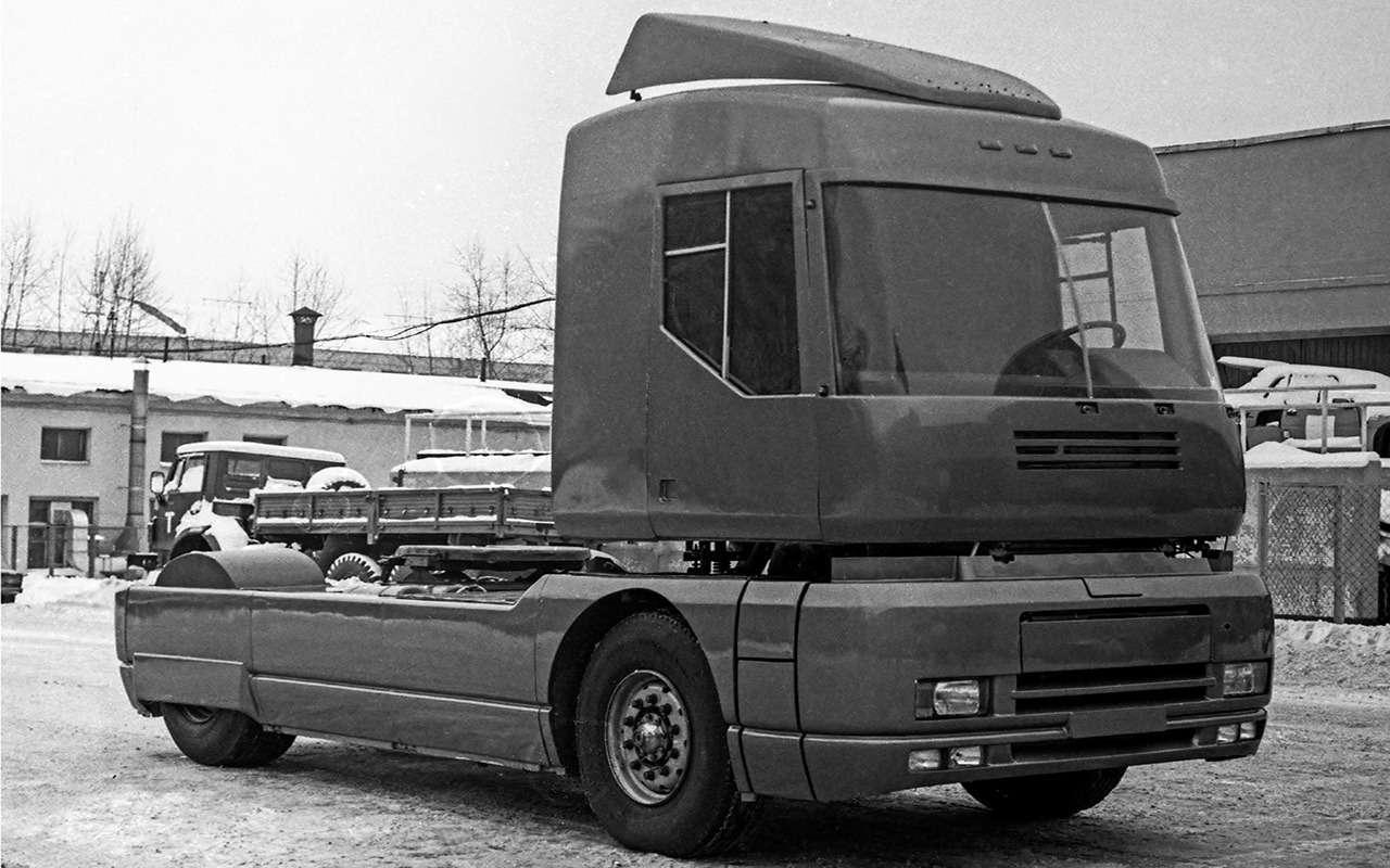 Концепты перестройки: эх, каких грузовиков неувидели!— фото 1221010