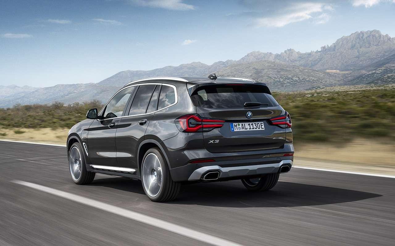 Обновленные BMW X3и X4: дата продаж ицена— фото 1252579