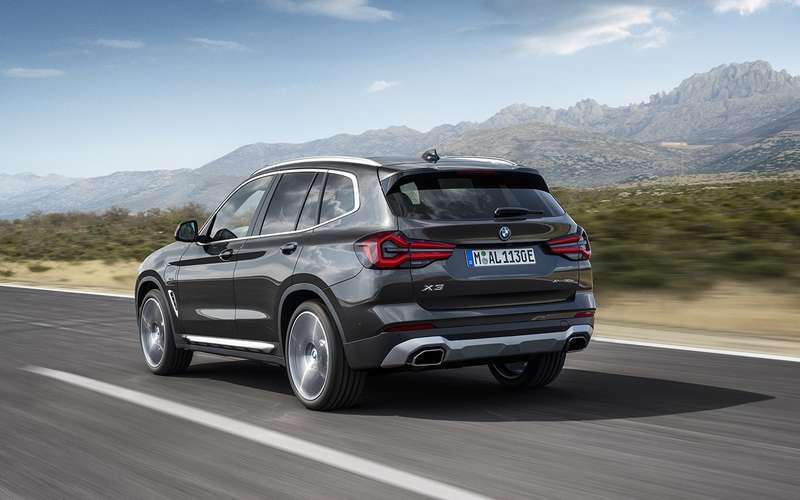 Обновленные BMW X3 и X4: дата продаж и цена