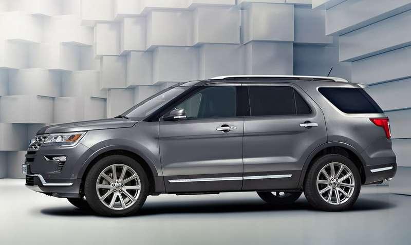 Названы российские цены наобновленный Ford Explorer