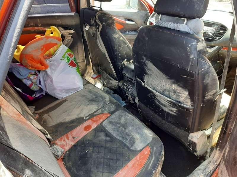 Владелец Весты показал свою машину после потопа вКраснодарском крае