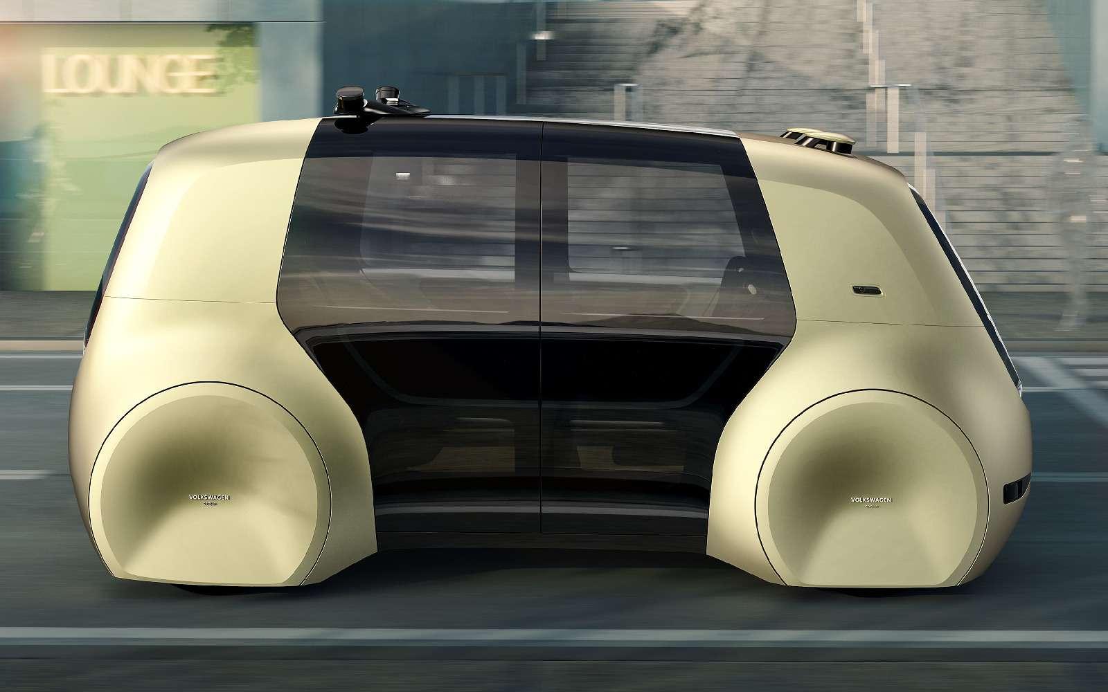 Volkswagen Sedric— германский ответ российской «Матрешке»— фото 717417